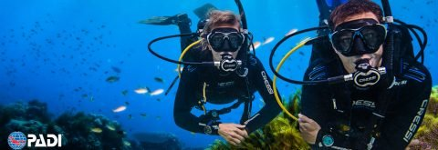 INITIATION COURSES PADI OPEN WATER DIVER